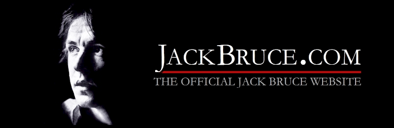 Welcome to the Official Jack Bruce.com